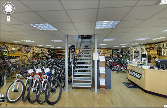 Google Shop View