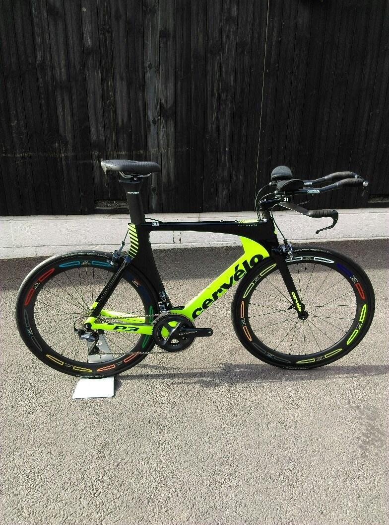 Cervelo P3 Ultegra 2018 56cm Ex-Demo TT/Triathlon Bike £3,000 00