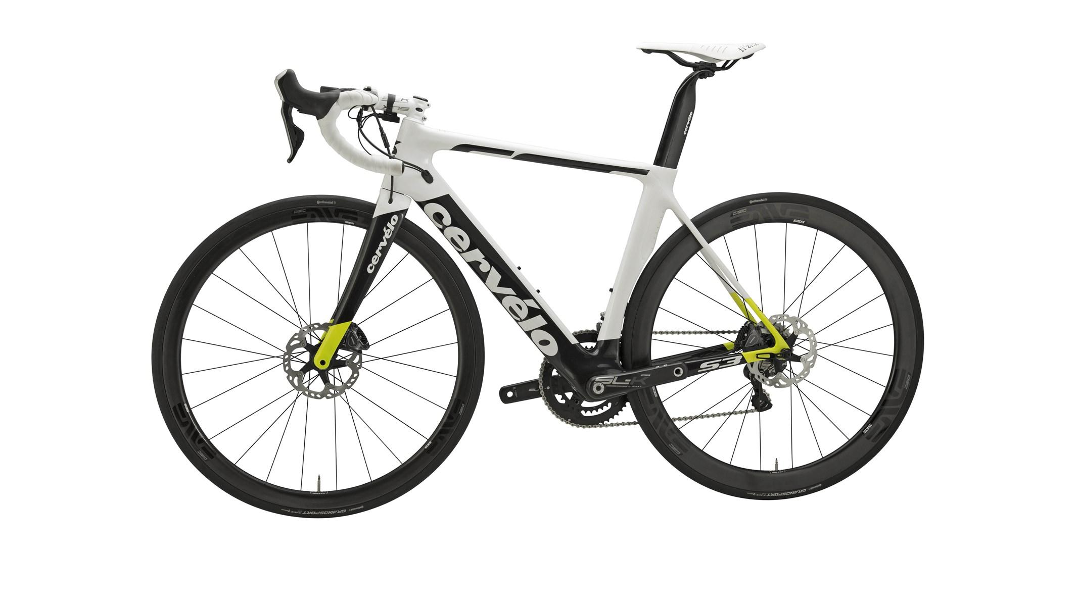 3c7127fab Cervelo S3 Disc Ultegra Di2 8070 2018 Road Bike - White £5